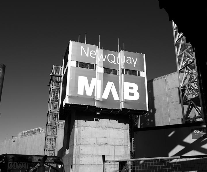 New Quay Building Signage